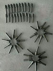 Tungsten machined part